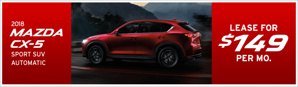 Lease A 2018 Mazda Cx 5 For 149 Per Month From Passport Mazda