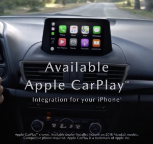 Mazda3 With Available Apple CarPlay™ Integration for Your